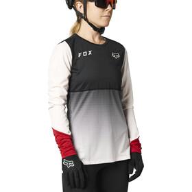Fox Flexair Langarm Trikot Damen schwarz/weiß
